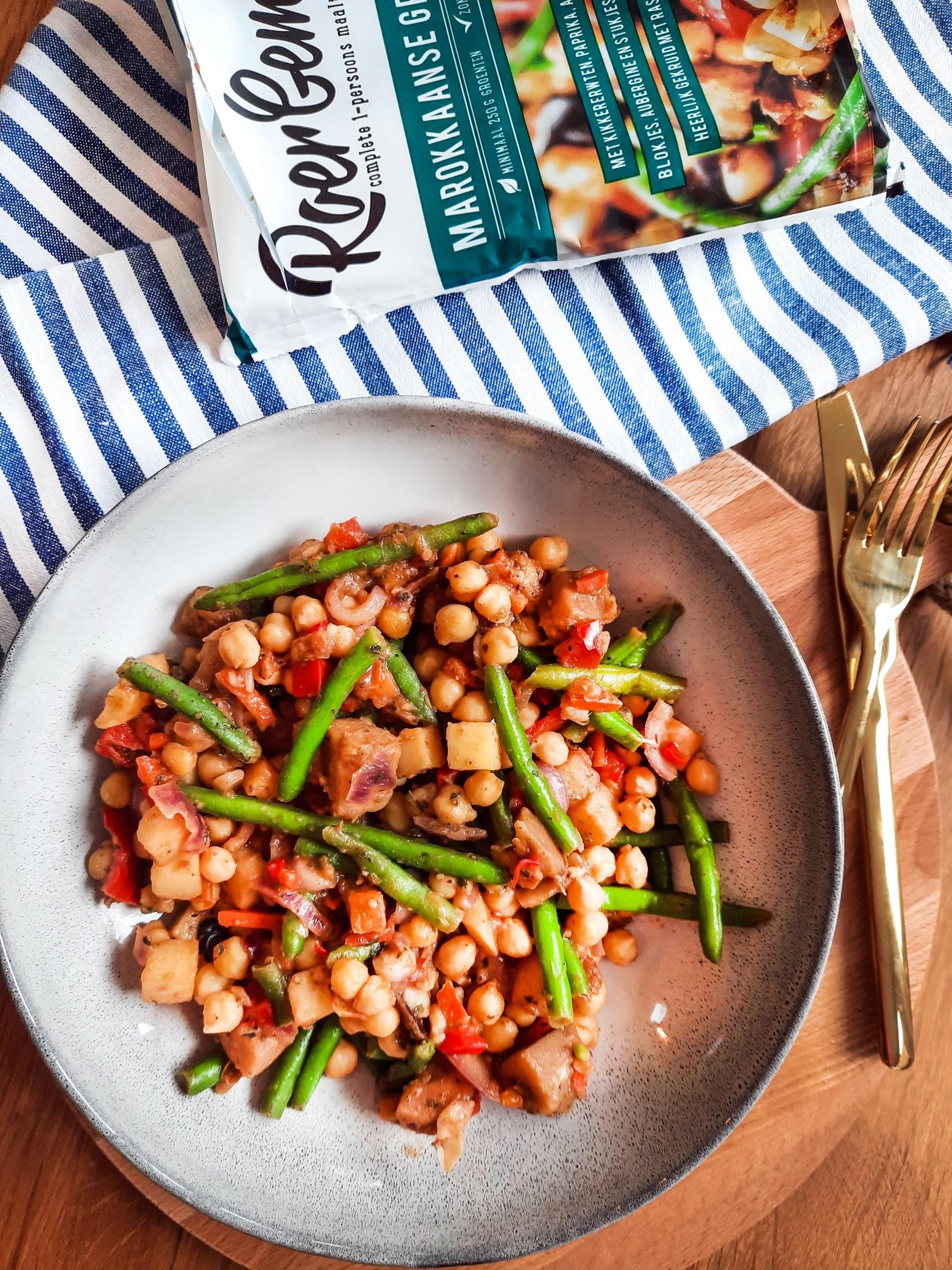 Eindresultaat kant & klaar 83: Marokkaanse groenteschotel