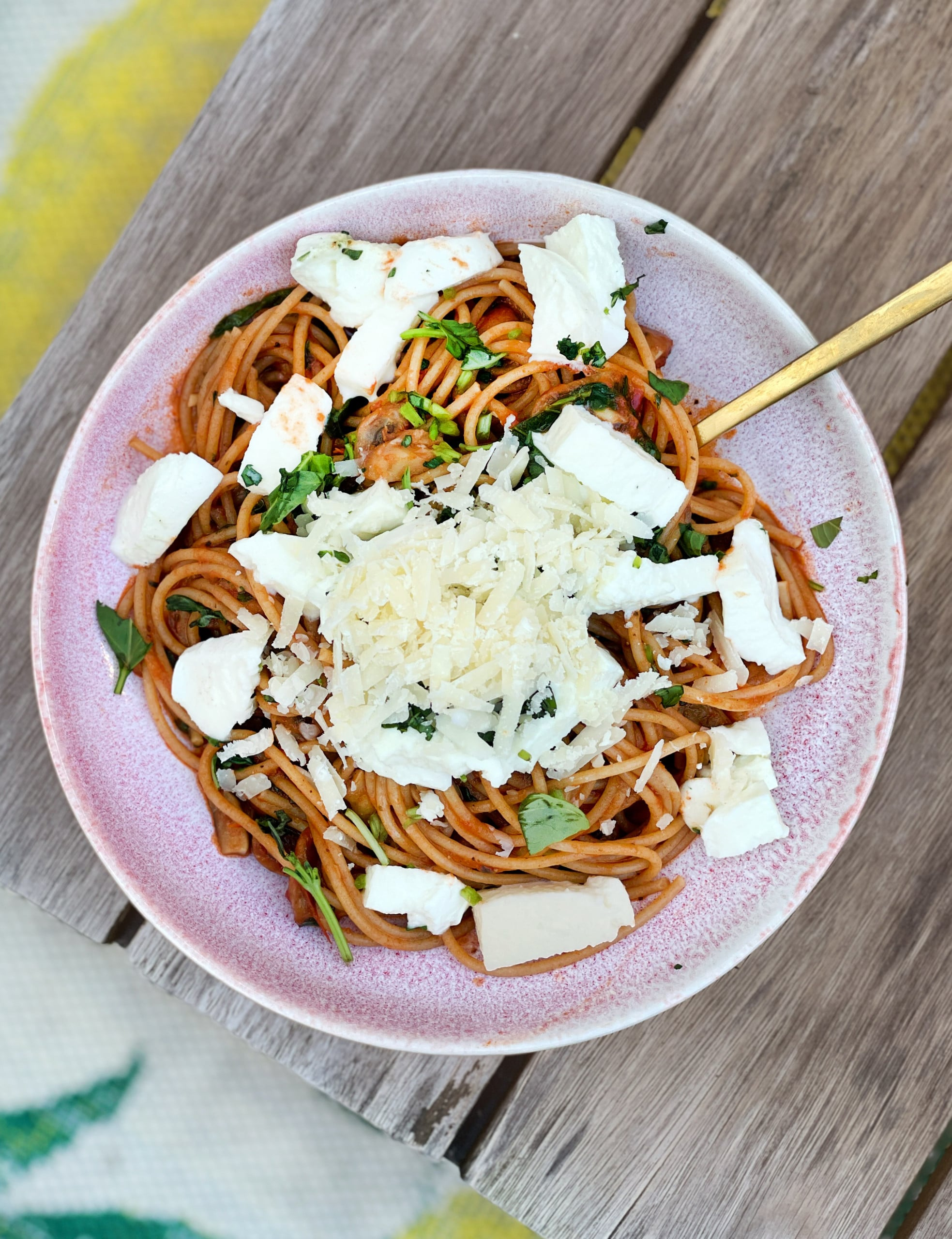 simpele spaghetti
